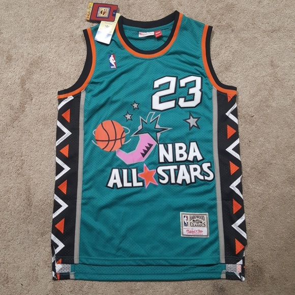 more photos 04c24 f8cc3 MJ All Star Throwback Jersey New Mens Stitched NWT